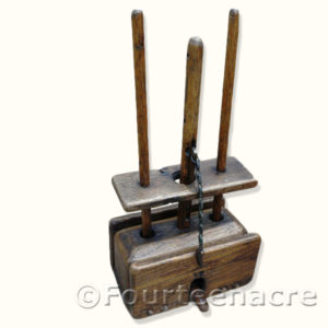 Vintage English Deadfall Mouse Trap