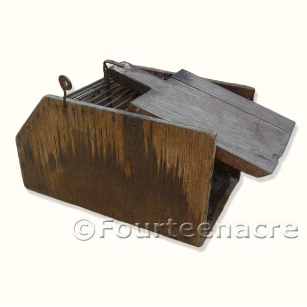 Vintage Mouse Cage Trap