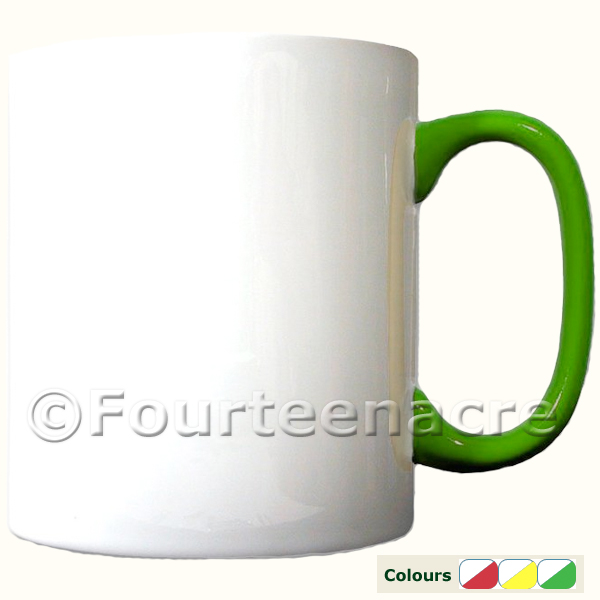 blank two tone trapping mug