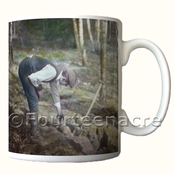 Rabbitting Mug