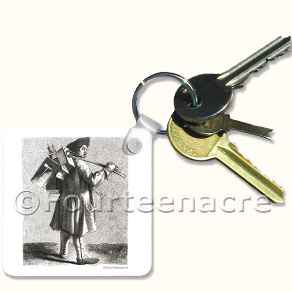 Rat Catcher Key ring