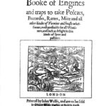 A Booke Of Engines Mascall 1590 (republished) (8120)