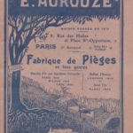 E. Aurouze, Paris 1911 Catalogue (republished) (8117)