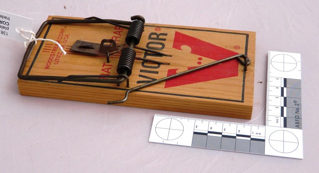 Victor rat trap 6138